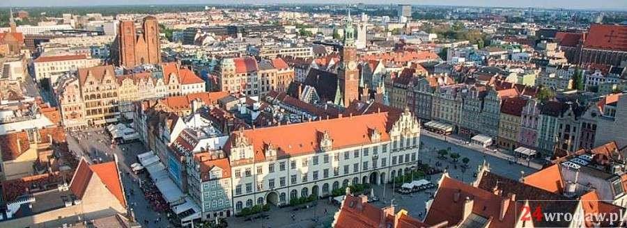 Miejsca we Wrocławiu, Wrocław krokach wycieczka terenowa - zdjęcie, fotografia