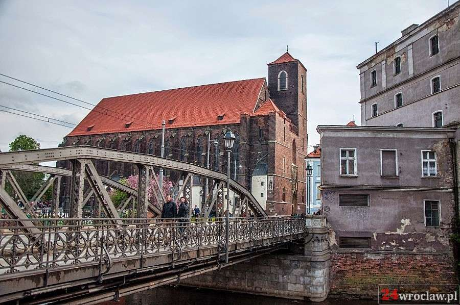 Miejsca we Wrocławiu, Wrocław wyspach spacer przewodnikiem - zdjęcie, fotografia