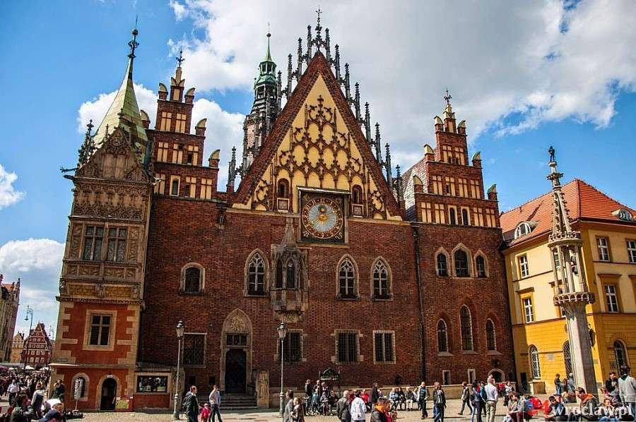 Miejsca we Wrocławiu, Zabytki Wrocławia kroku - zdjęcie, fotografia
