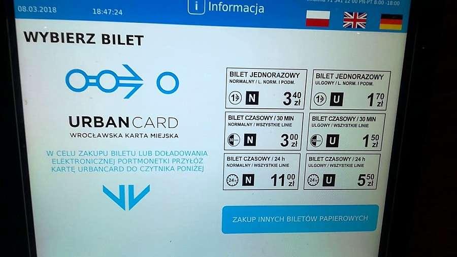 24wroclaw, miesiące nowym systemem Urbancard Wrocławiu - zdjęcie, fotografia