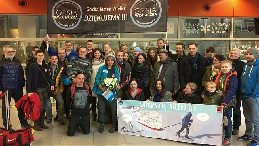 24wroclaw, Pierwsza Polka która zdobyła biegun południowy wróciła kraju Wrocławianka przez pokonał - zdjęcie, fotografia