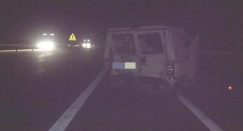 Autostrada A4, Poważny wypadek Jedna osoba stanie krytycznym - zdjęcie, fotografia