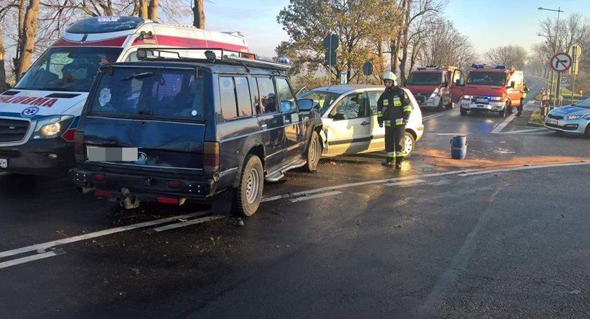 Autostrada A4, osoby poszkodowane wypadku Kostomłotach - zdjęcie, fotografia