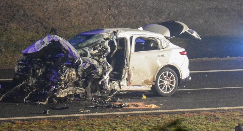 Wypadki drogowe, Tragedia Zginęły osoby - zdjęcie, fotografia