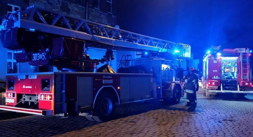 Pożary, Tragiczny pożar Świstackiego - zdjęcie, fotografia