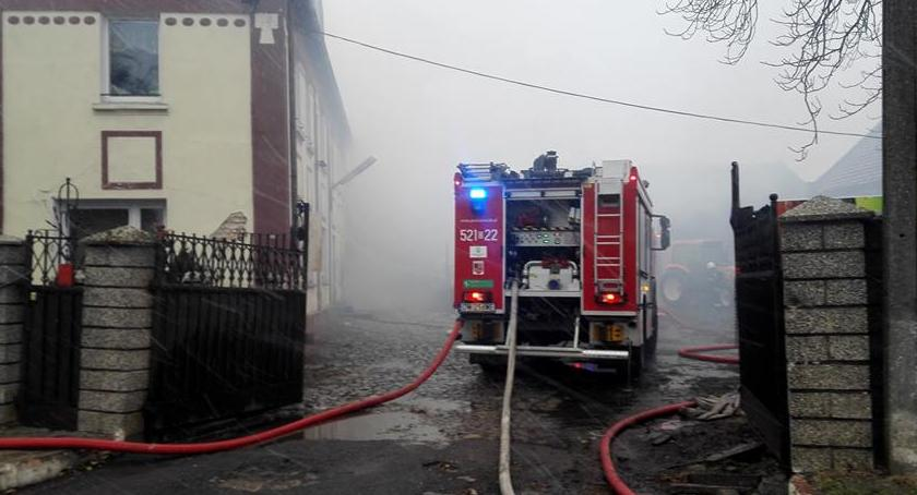 Pożary, Pożar Oławą - zdjęcie, fotografia