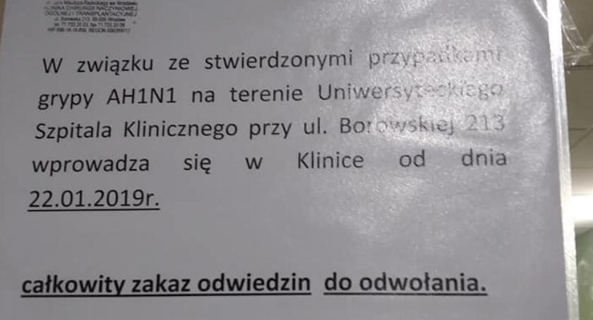 Wirus świńskiej grypy na Borowskiej