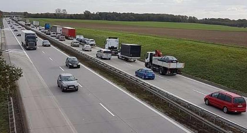 Korek na autostradzie A4 miał 14 km