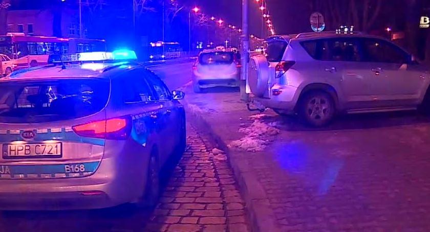 Kronika kryminalna, Podczas ucieczki przed policją uszkodził - zdjęcie, fotografia