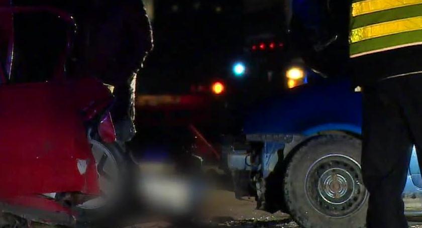 Wypadki drogowe, Tragiczny wypadek Wrocławiem Zginął latek - zdjęcie, fotografia