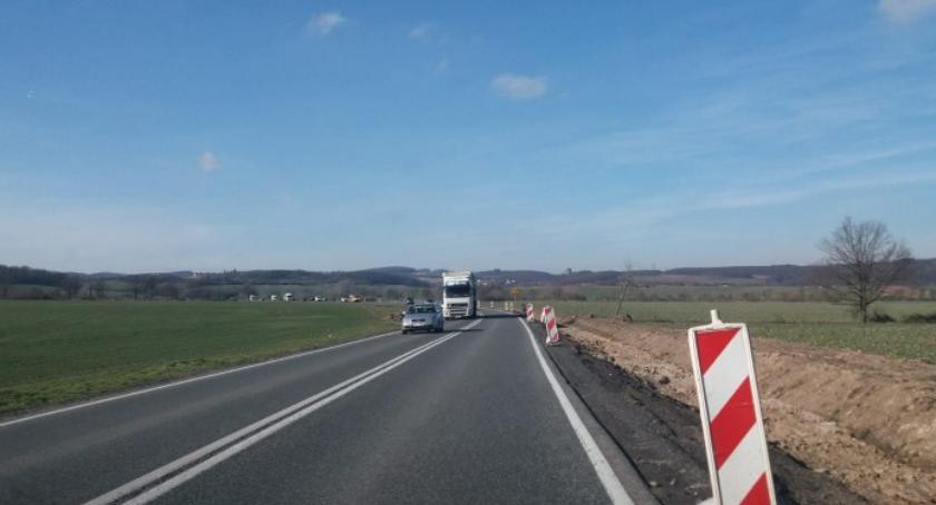 Komunikacja, Droga Wrocław Bolków zamknięta miesiace - zdjęcie, fotografia