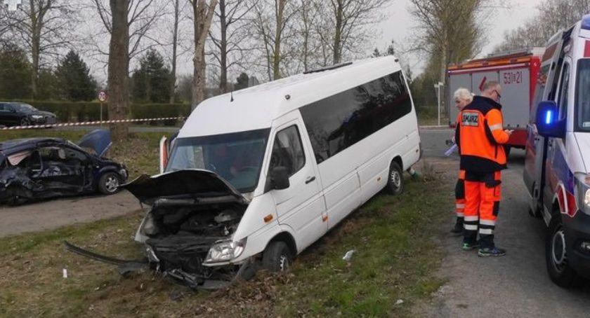 Wypadki drogowe, Śmiertelny wypadek drodze Polkowicach Policja apeluje rozwagę ostrożność - zdjęcie, fotografia