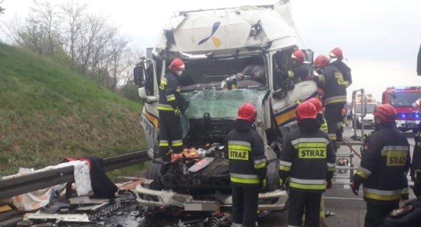 Autostrada A4, śmiertelne wypadki autostradzie - zdjęcie, fotografia
