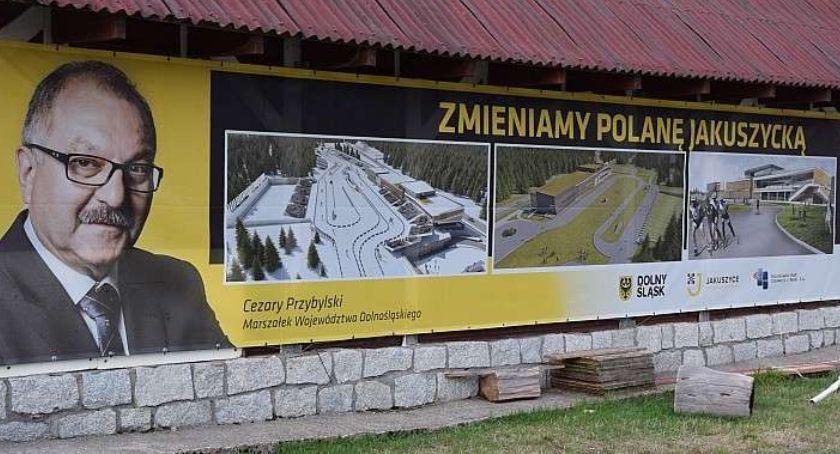 Ludzie, Przetarg przebudowę Polany Jakuszyckiej unieważniony - zdjęcie, fotografia