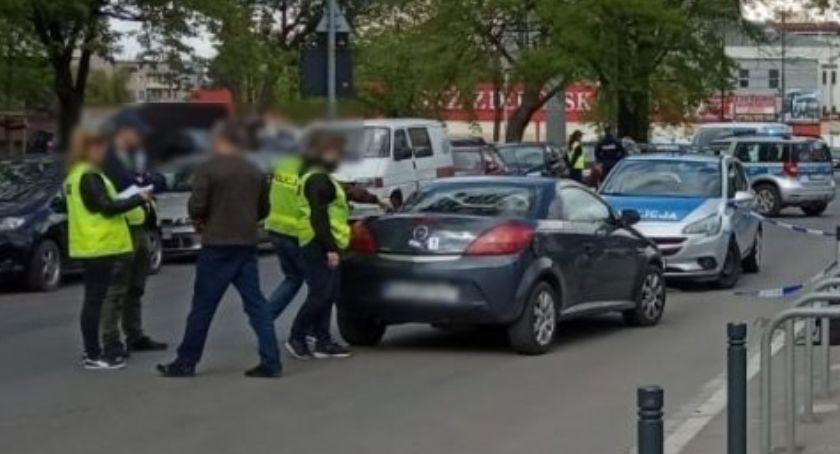 Kronika kryminalna, Zatrzymany pościgu strzałach ostrzegawczych - zdjęcie, fotografia