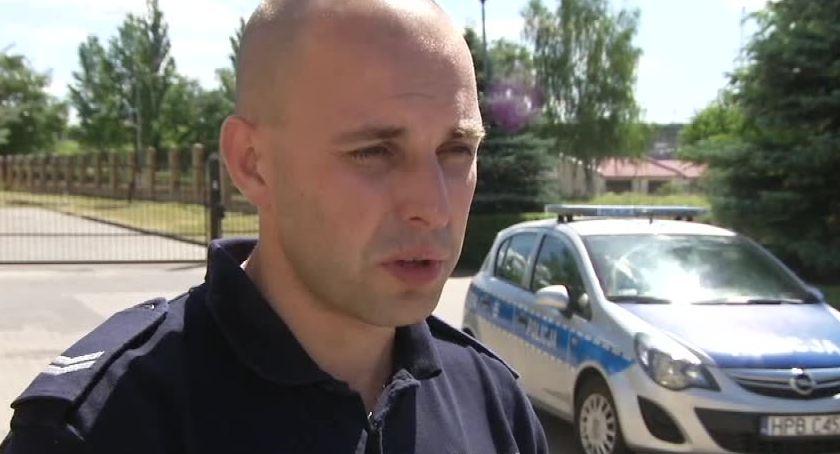 Kronika kryminalna, Policja prowadzi śledztwo śmierci kolarza podczas zawodów Jakubowie Dolnym Śląsku - zdjęcie, fotografia