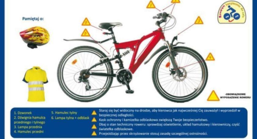 Policja - Komunikaty, Jeździsz rowerem Koniecznie przeczytaj artykuł znajdziesz wiele informacji których powinieneś wiedzieć - zdjęcie, fotografia