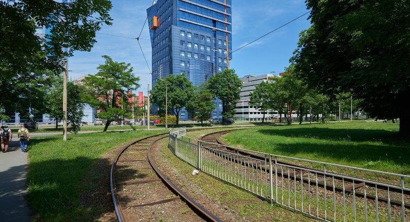 Społeczeństwo, Remont petli tramwajowej - zdjęcie, fotografia