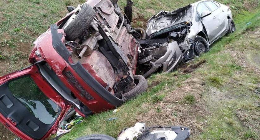 Autostrada A4, Poniedziałkowy wypadek - zdjęcie, fotografia