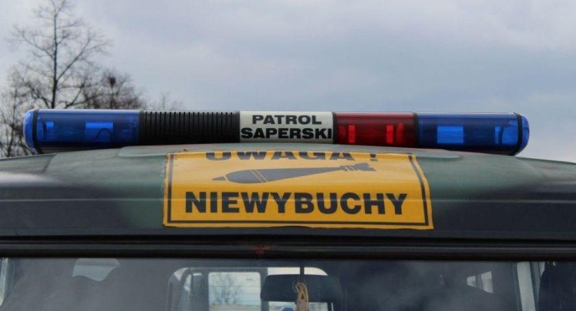 Policja - Komunikaty, Głogowie odkopano szczątki ludzkie amunicję - zdjęcie, fotografia