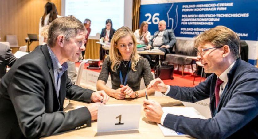 Spotkania, Polsko Niemiecko Czeskie Forum Kooperacji - zdjęcie, fotografia