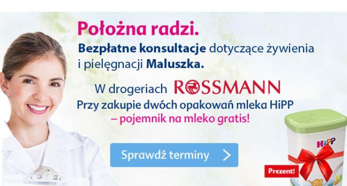 Zdrowie, Położna radzi Rossmannie - zdjęcie, fotografia
