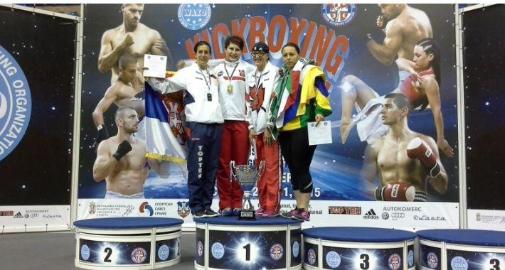 Sport, Mistrzyni Świata Kickboxingu - zdjęcie, fotografia