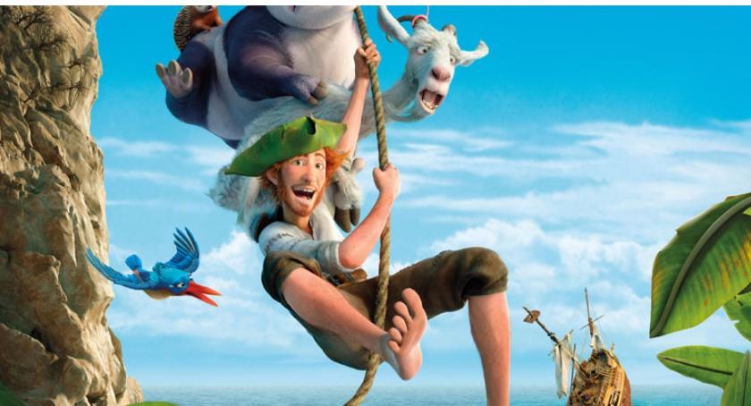 Film, Robinson Crusoe ramach akcji Rodzina - zdjęcie, fotografia