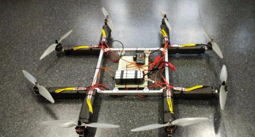 Technologie, Polskie drony Chinach - zdjęcie, fotografia
