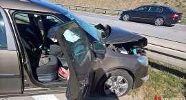 Karambol na A4. Jedna osoba ranna