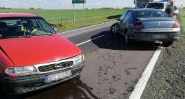 Dwie osoby ranne w wypadku na trasie Strzelin - Łagiewniki