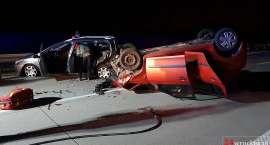 Groźny wypadek na autostradzie A4. Trzy osoby w szpitalu