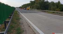 Na autostradzie A4 zasłabł kierowca. Lądował śmigłowiec LPR