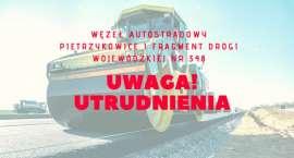 Uwaga - utrudnienia przy węźle autostradowym Pietrzykowice