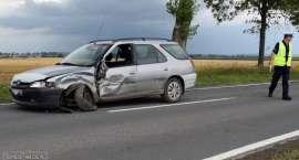 Zderzenie Peugeota i Nissana między Stoszowicami a Ząbkowicami Śląskimi