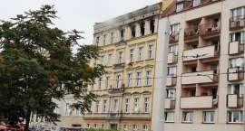 Tragiczny pożar mieszkania w kamienicy na Dubois
