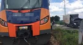 O krok od tragedii na niestrzeżonym przejeździe kolejowym