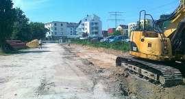 Brakujący odcinek ulicy Mglistej