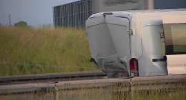 Seria wypadków na autostradzie A4