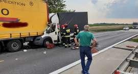 Tragiczny wypadek na A4. Zginął kierowca busa