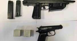 Dzielnicowi zabezpieczyli pistolet maszynowy