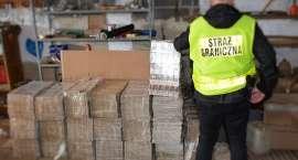 Likwidacja nielegalnych magazynów oraz krajalni tytoniu