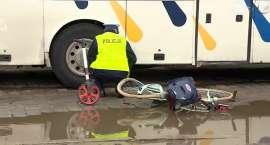 Rowerzystka nie żyje, jej synek jest w ciężkim stanie. Kierowca autobusu z zarzutami