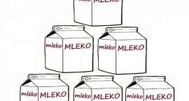 Kradł mleko w jednym z marketów