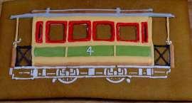 Piernikowy tramwaj