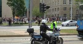 Policjanci czuwają nad bezpieczeństwem młodzieży akademickiej podczas imprez Juwenaliowych