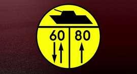 W większości są okrągłe, żółte i często pojawia się na nich symbol czołgu. O czym informują nowe tab