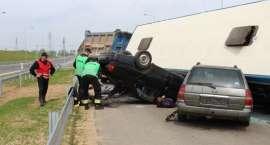 Ćwiczenia służb ratowniczych na drodze ekspresowej S-3