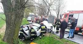 Wypadek na trasie Strzelin-Oława