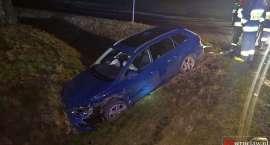 Wypadek na drodze Kostomłoty - Strzegom